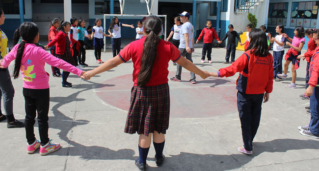 Boxing and youth empowerment training in Guatemala