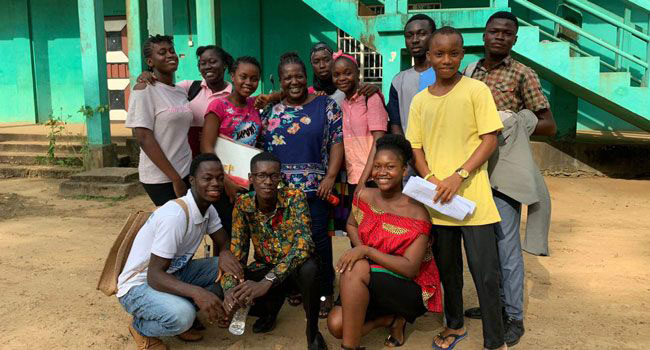 Children's Forum Network-Kenema team
