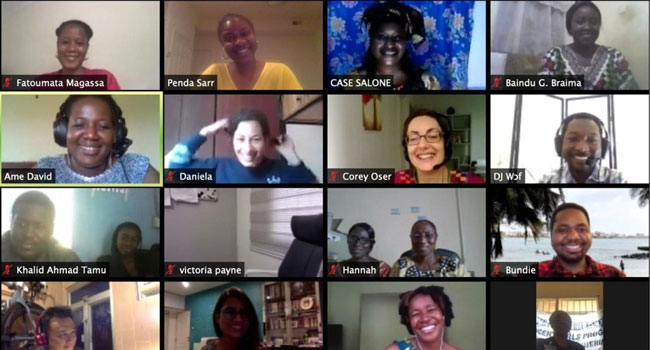 GFC West Africa virtual convening