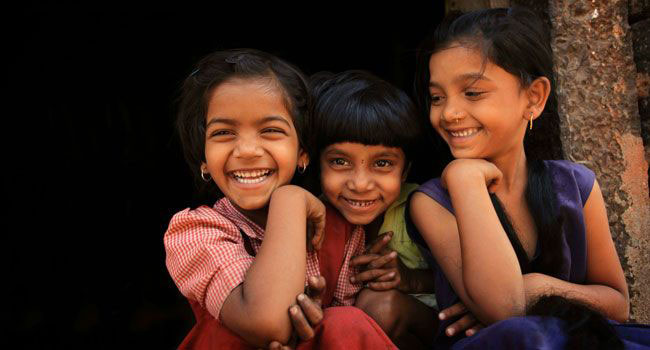Girls at Avani in India