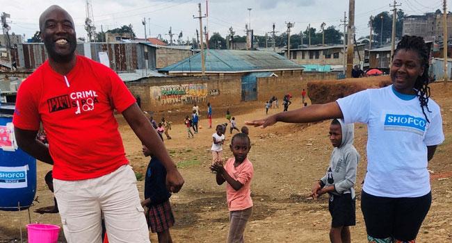 Modeling social distancing in Kenya