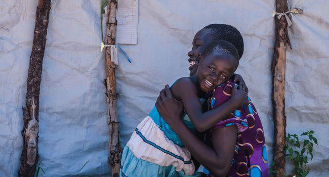 Mother and daughter in Uganda