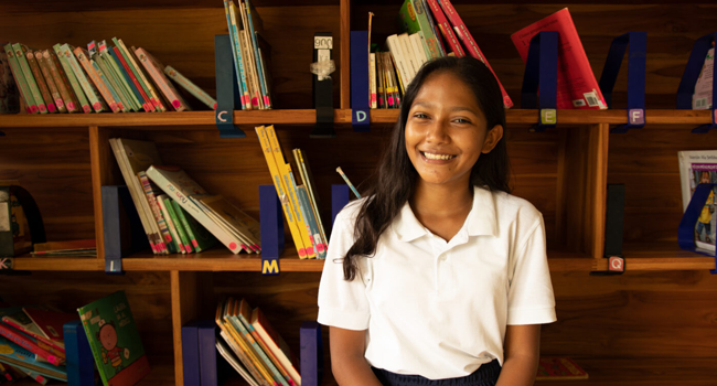 A portrait of Nathalia, a young person in Nicaragua