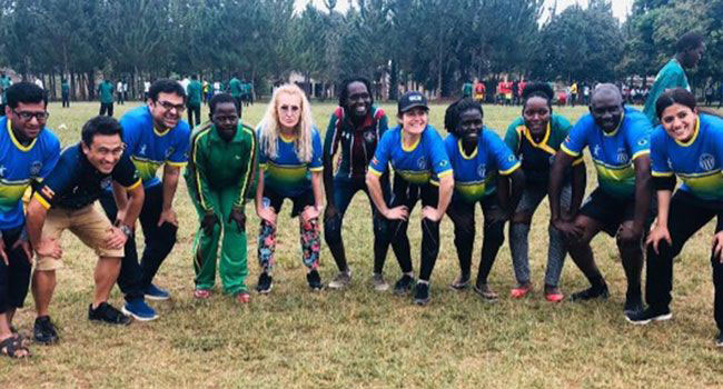 Step Up participants in Uganda