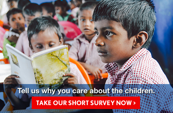 Tell us why you care about the children