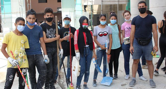Tahaddi Lebanon youth responders