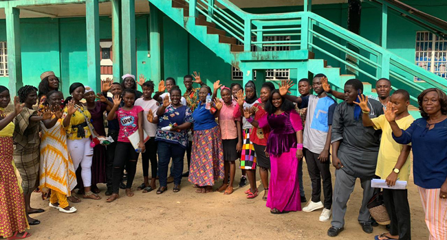Partners in the Ending Violence Against Girls in West Africa initiative