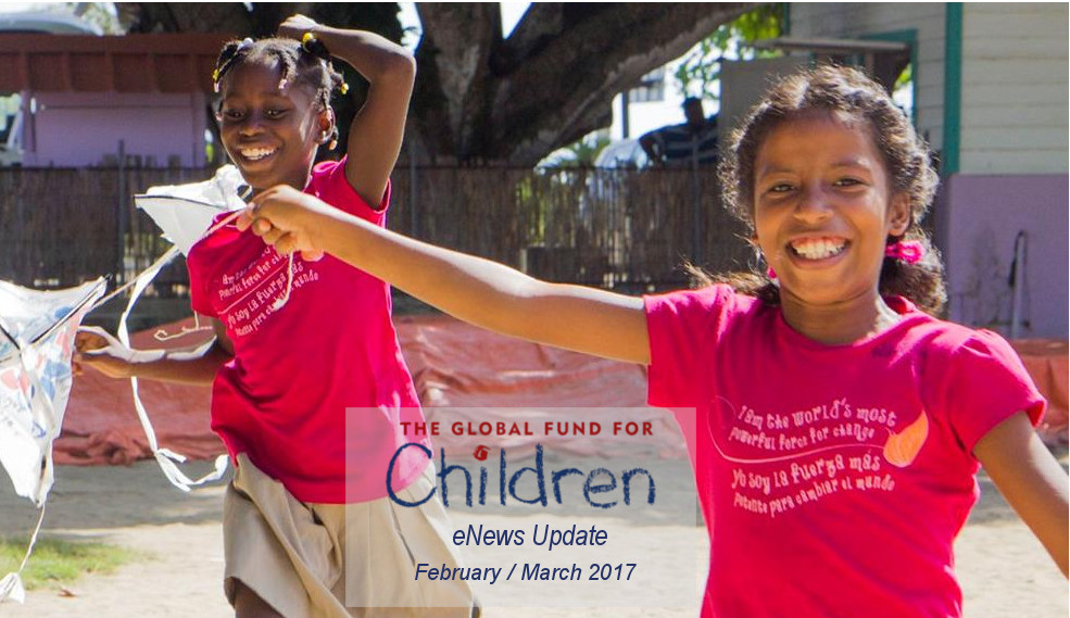 The Global Fund for Children - Enews Update - Feb 2017